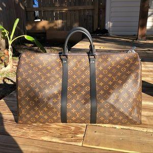 Louis Vuitton keepall 45 bandouliere duffel bag